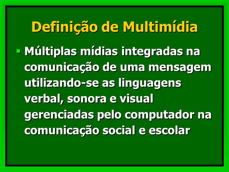 Definição de Multimídia