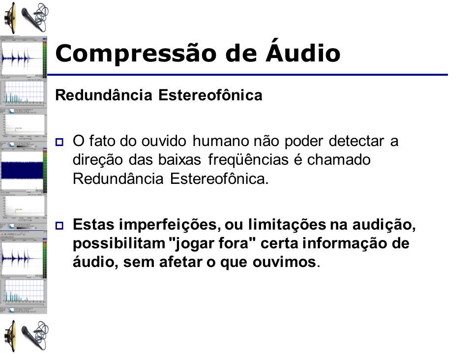 Compressão de Áudio Redundância Estereofônica