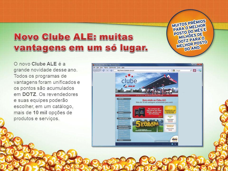 Novo Clube ALE: muitas vantagens em um só lugar.
