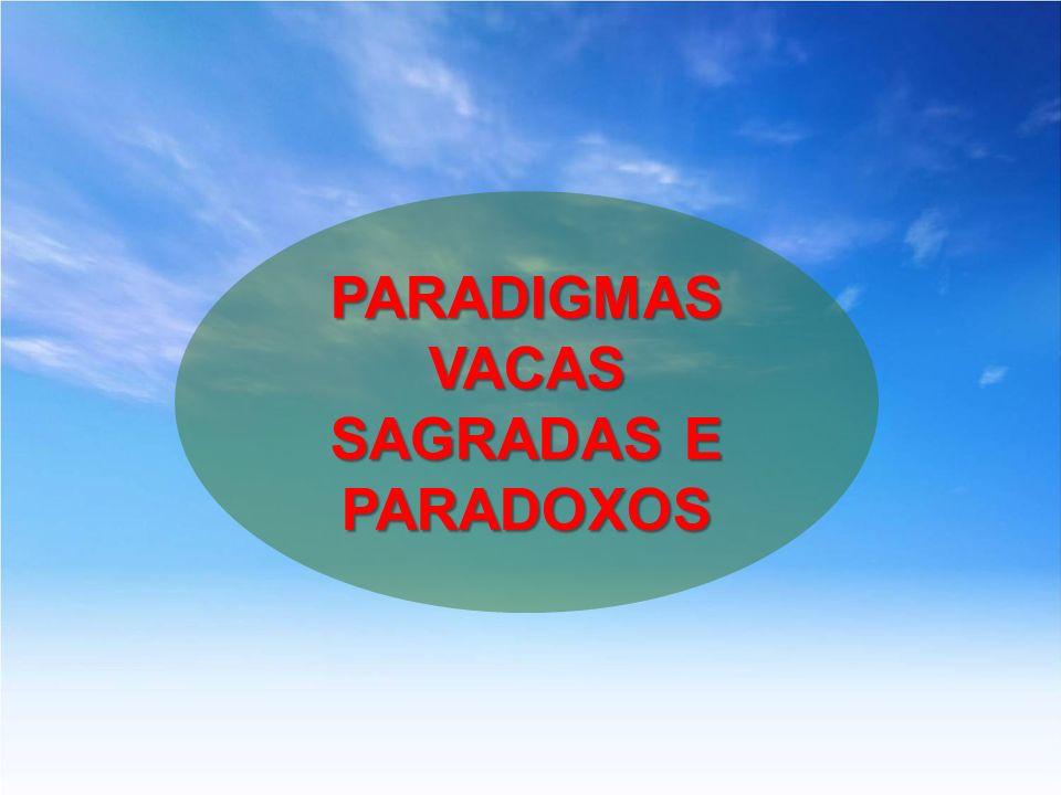 VACAS SAGRADAS E PARADOXOS