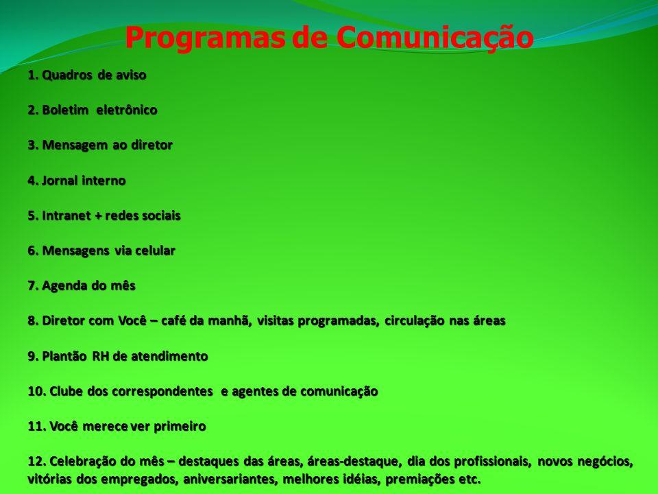 Programas de Comunicação