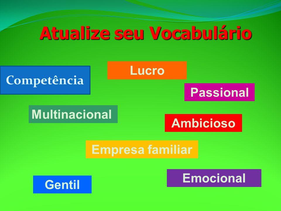 Atualize seu Vocabulário