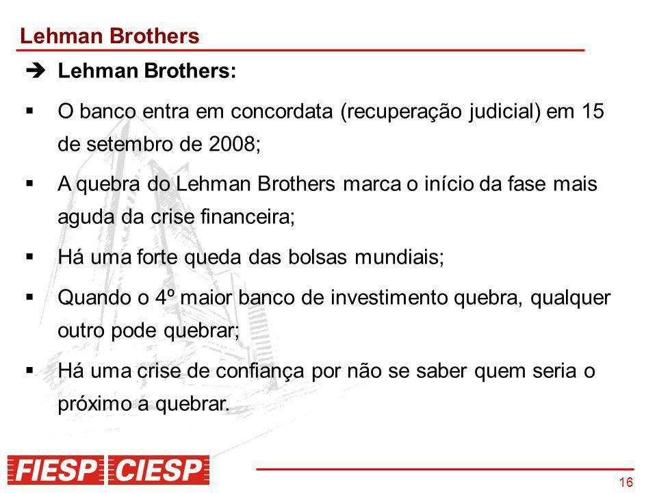 Lehman Brothers Lehman Brothers: