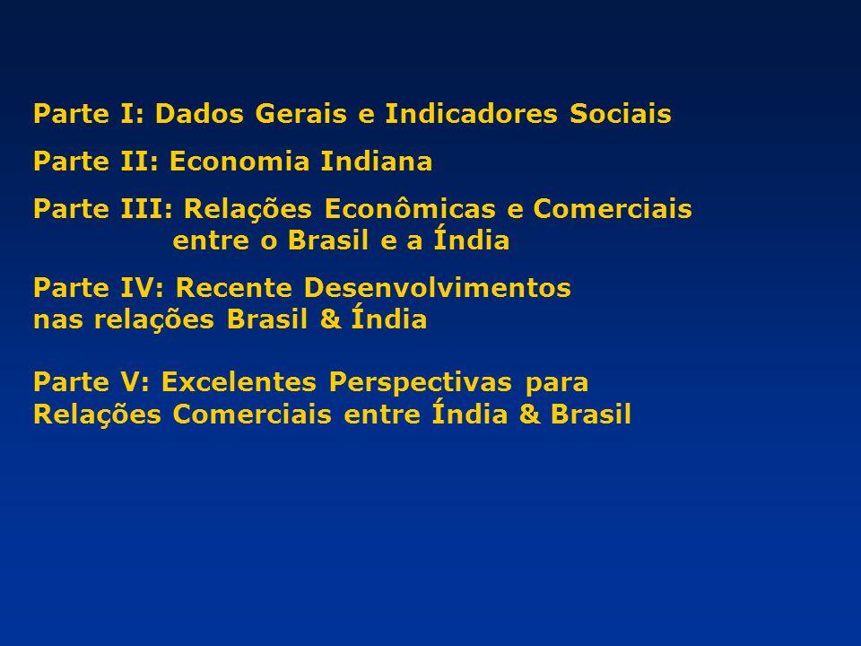 Parte I: Dados Gerais e Indicadores Sociais