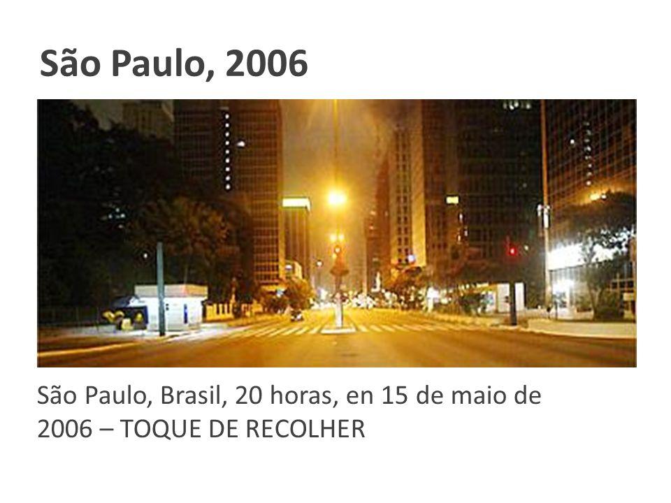 São Paulo, 2006 Clique para adicionar texto.