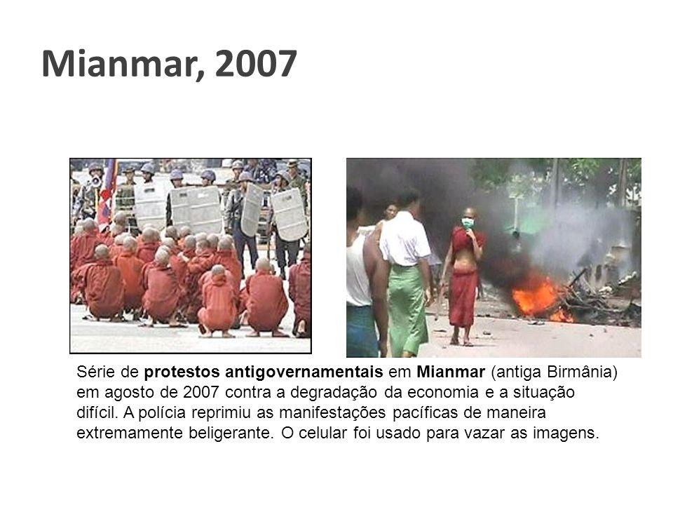 Mianmar, 2007 Clique para adicionar texto.