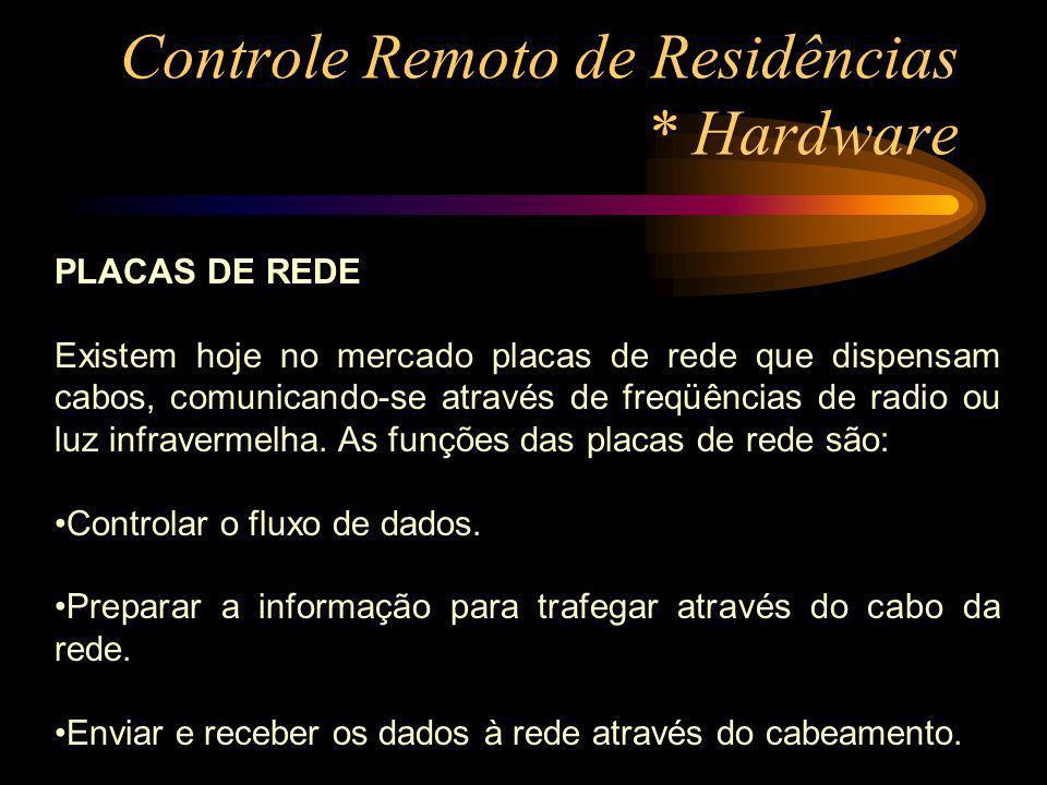 Controle Remoto de Residências * Hardware