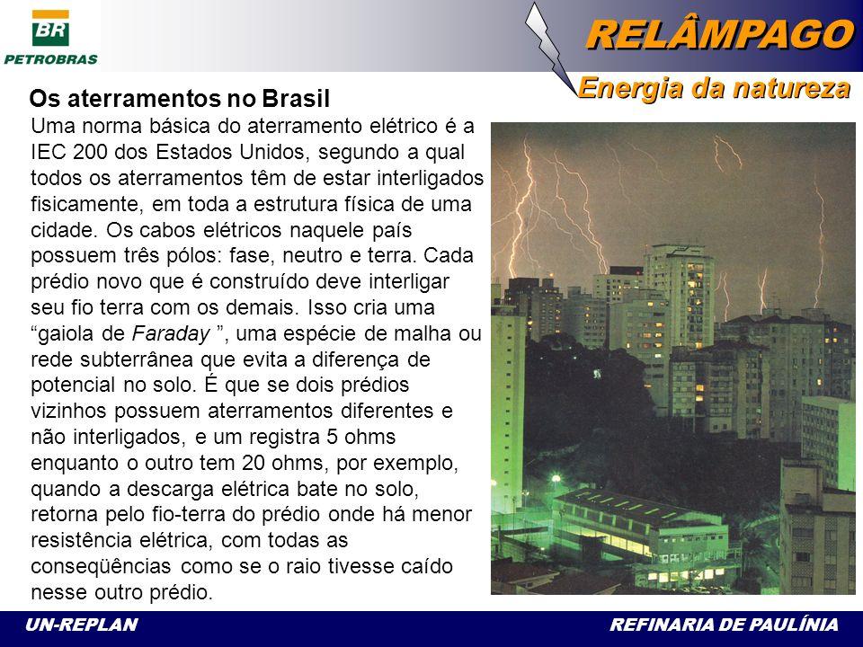 Os aterramentos no Brasil