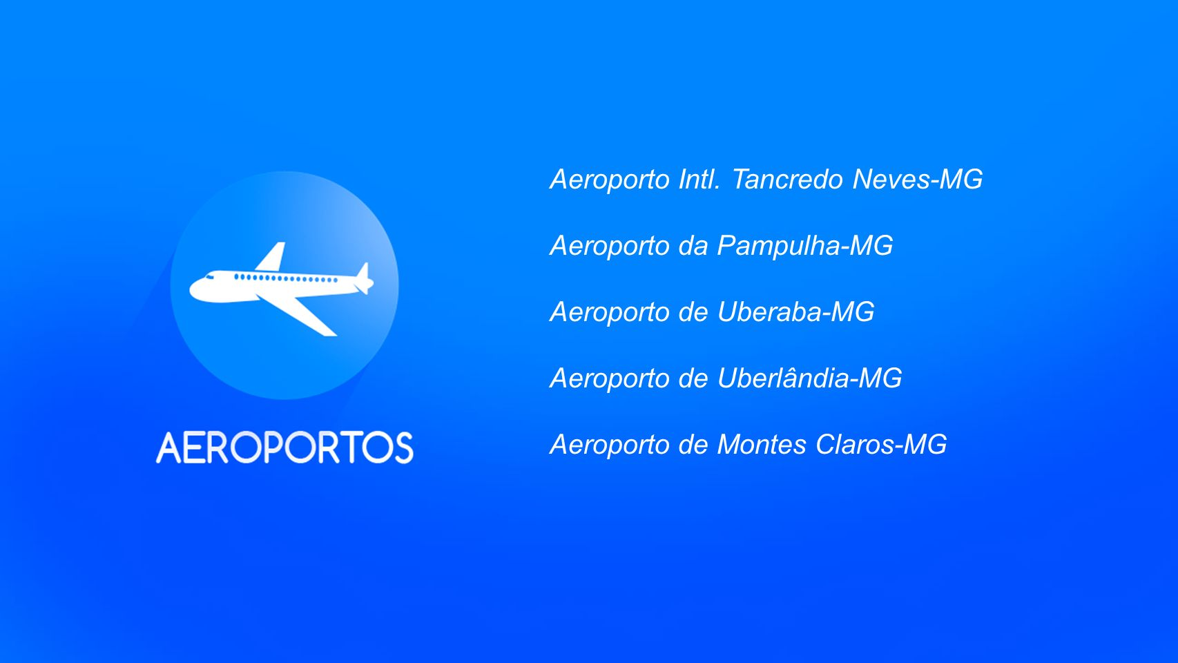 Aeroporto Intl. Tancredo Neves-MG