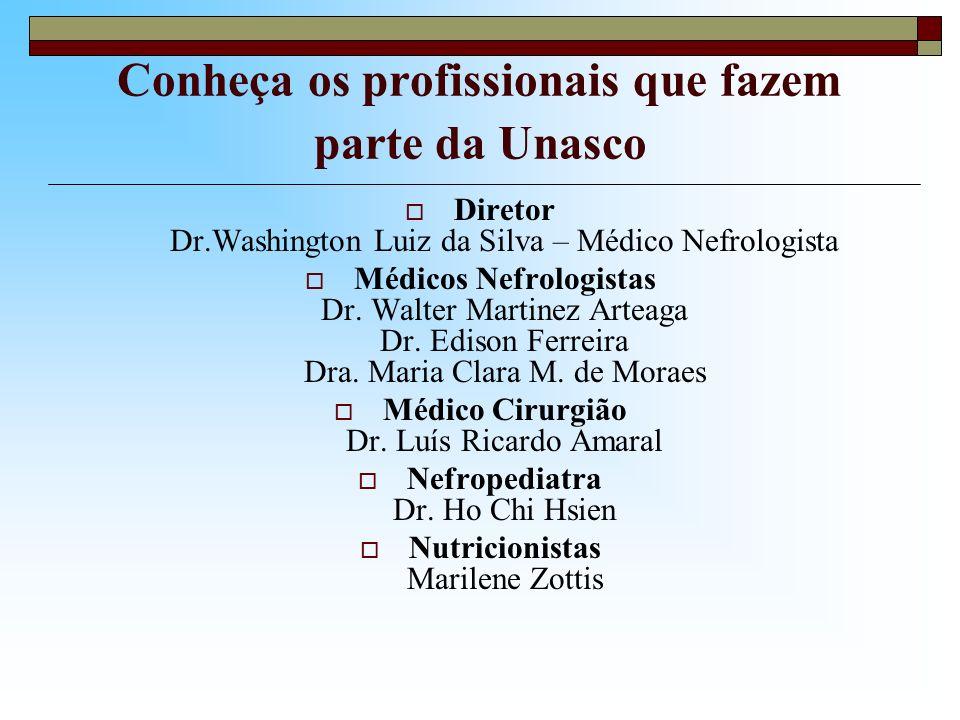 Conheça os profissionais que fazem parte da Unasco