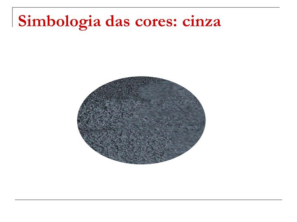 Simbologia das cores: cinza