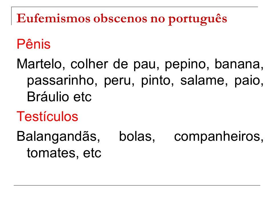 Eufemismos obscenos no português