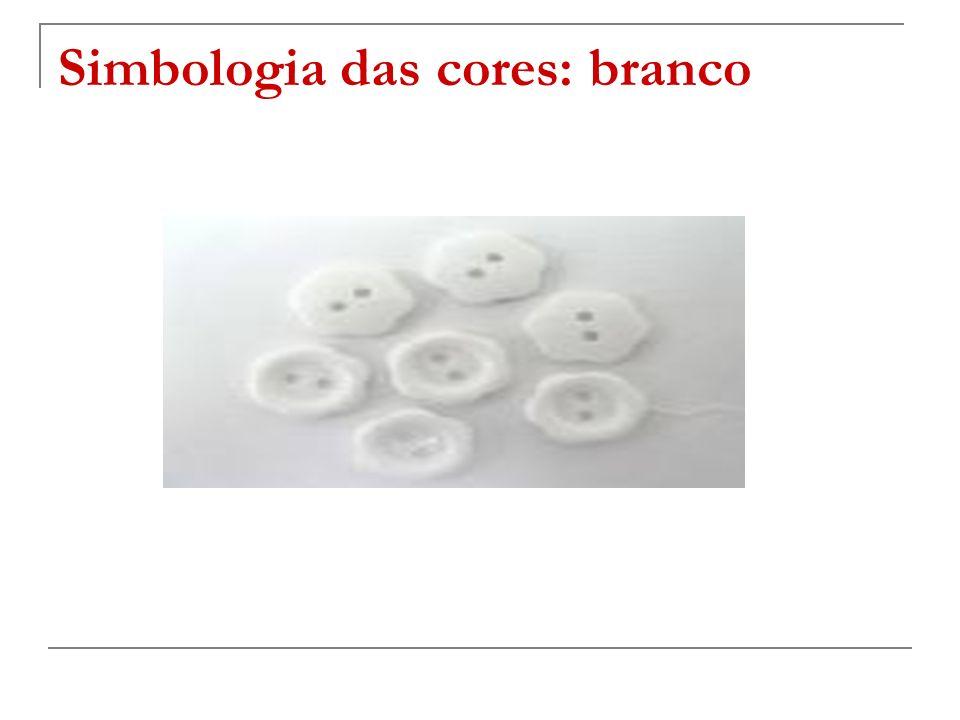 Simbologia das cores: branco