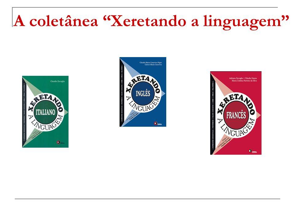 A coletânea Xeretando a linguagem