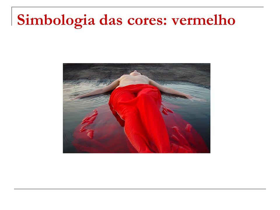 Simbologia das cores: vermelho