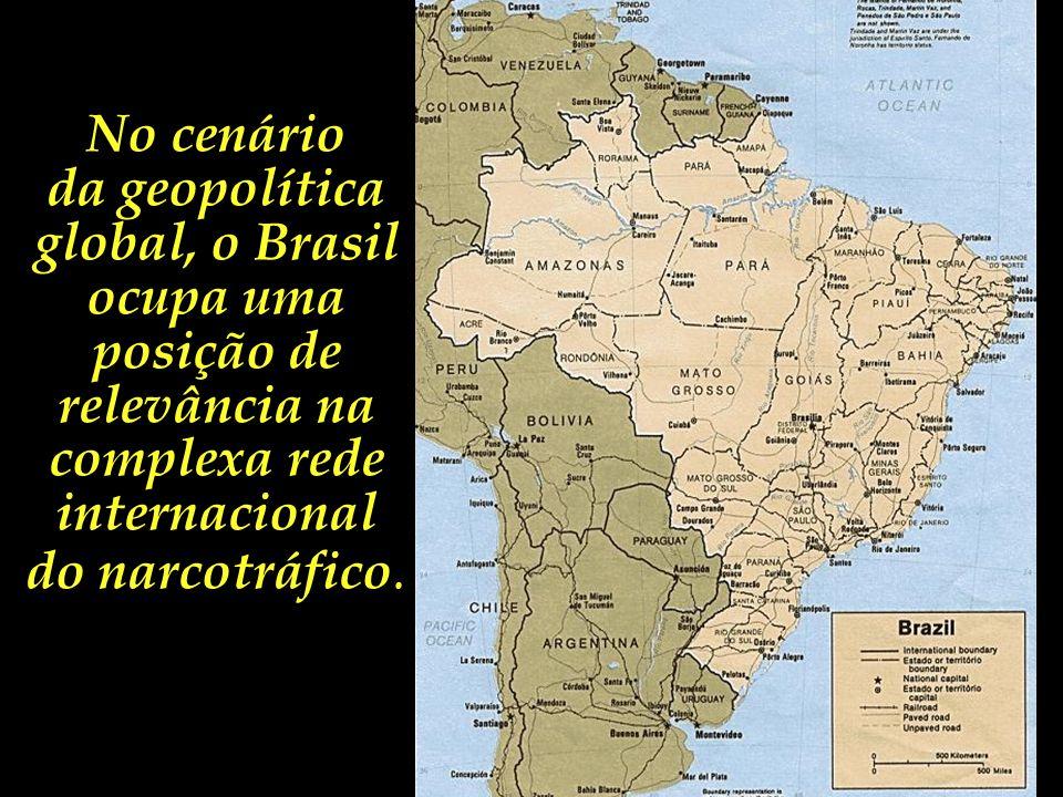 No cenário da geopolítica global, o Brasil ocupa uma posição de relevância na complexa rede internacional.