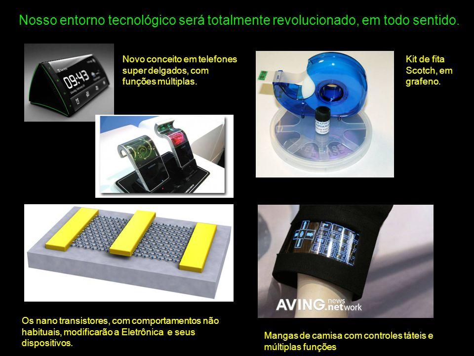 Nosso entorno tecnológico será totalmente revolucionado, em todo sentido.