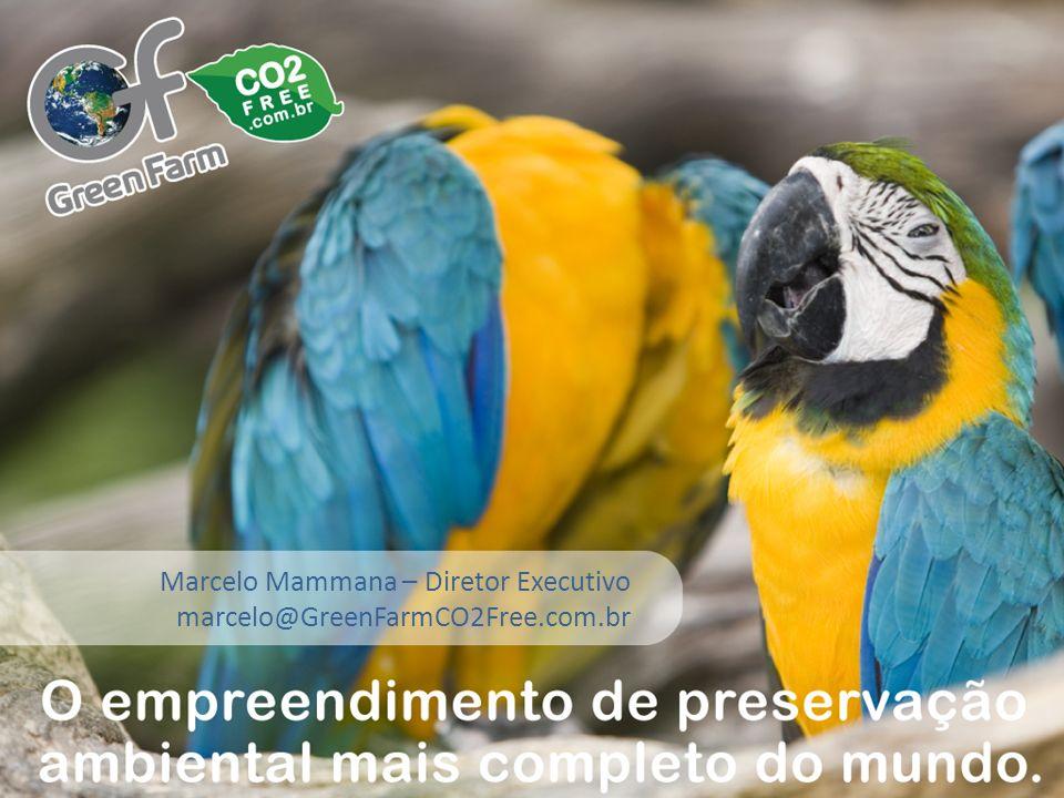 Título Marcelo Mammana – Diretor Executivo marcelo@GreenFarmCO2Free.com.br