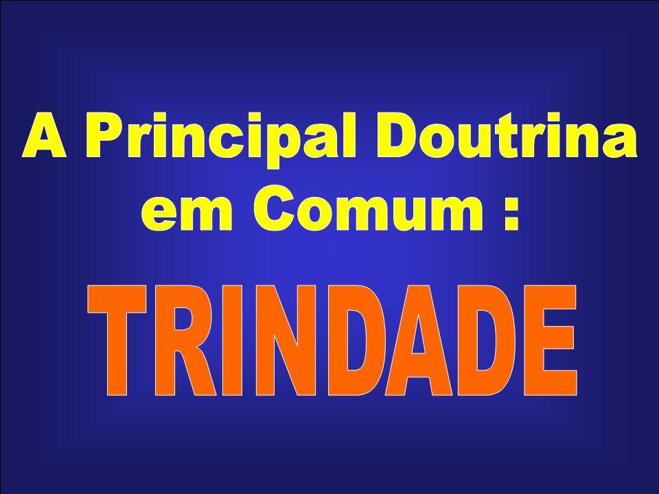 A Principal Doutrina em Comum : TRINDADE