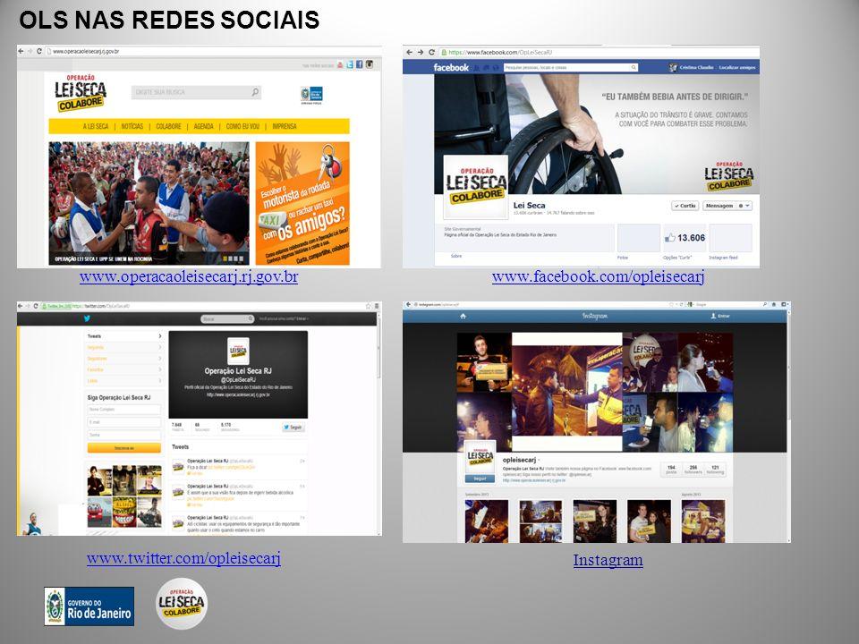OLS NAS REDES SOCIAIS www.operacaoleisecarj.rj.gov.br