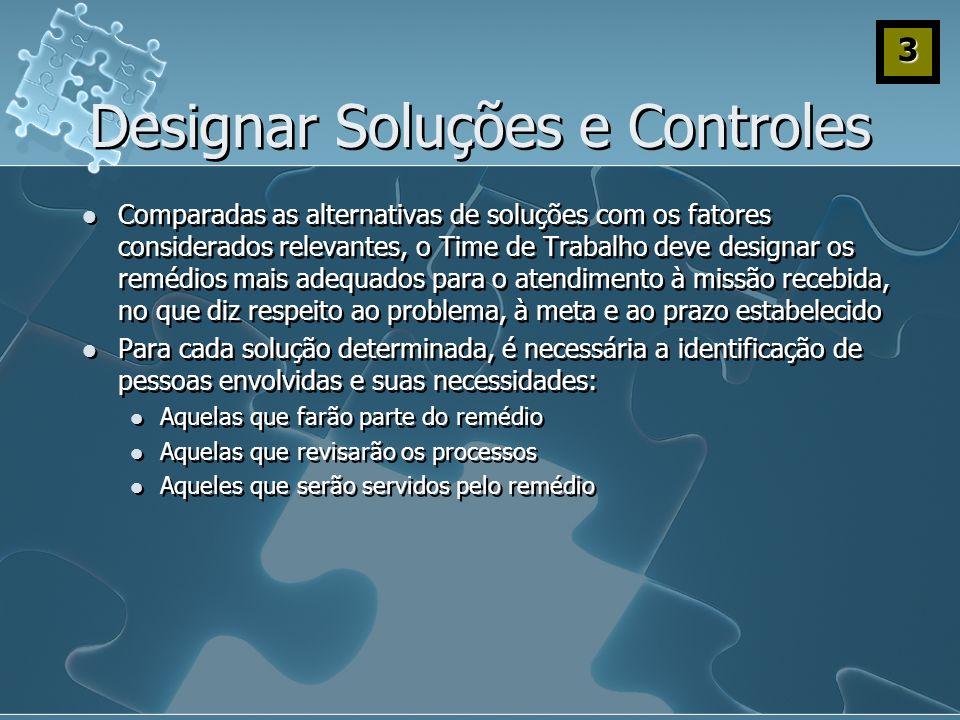 Designar Soluções e Controles