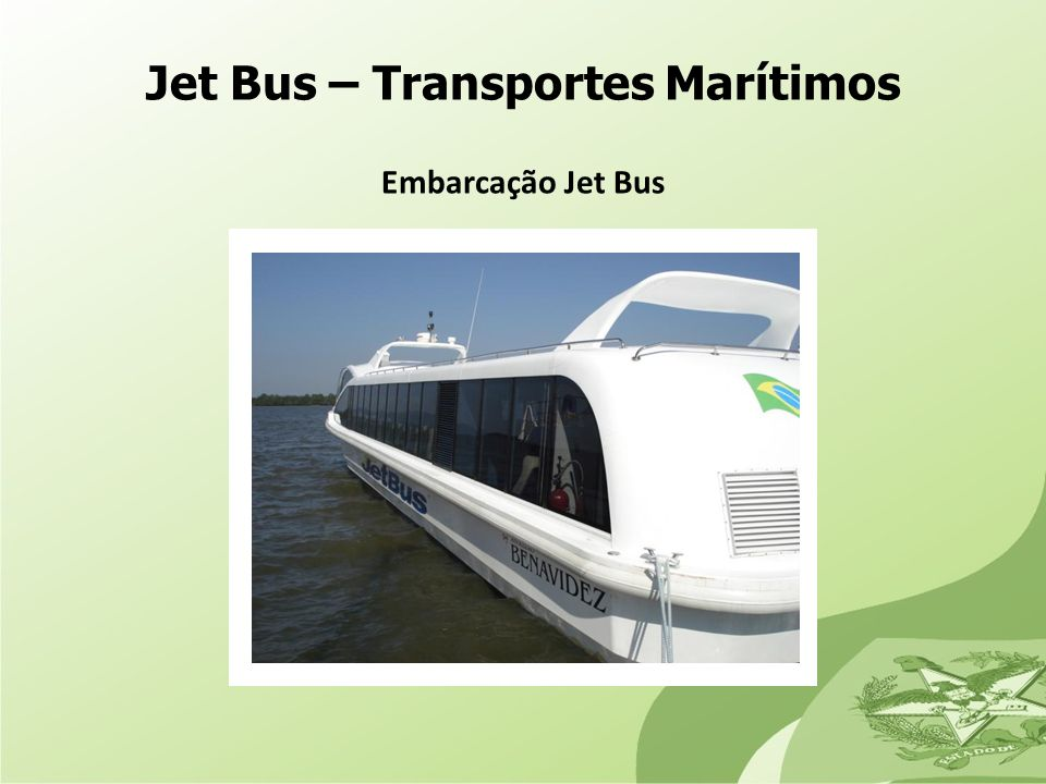 Jet Bus – Transportes Marítimos