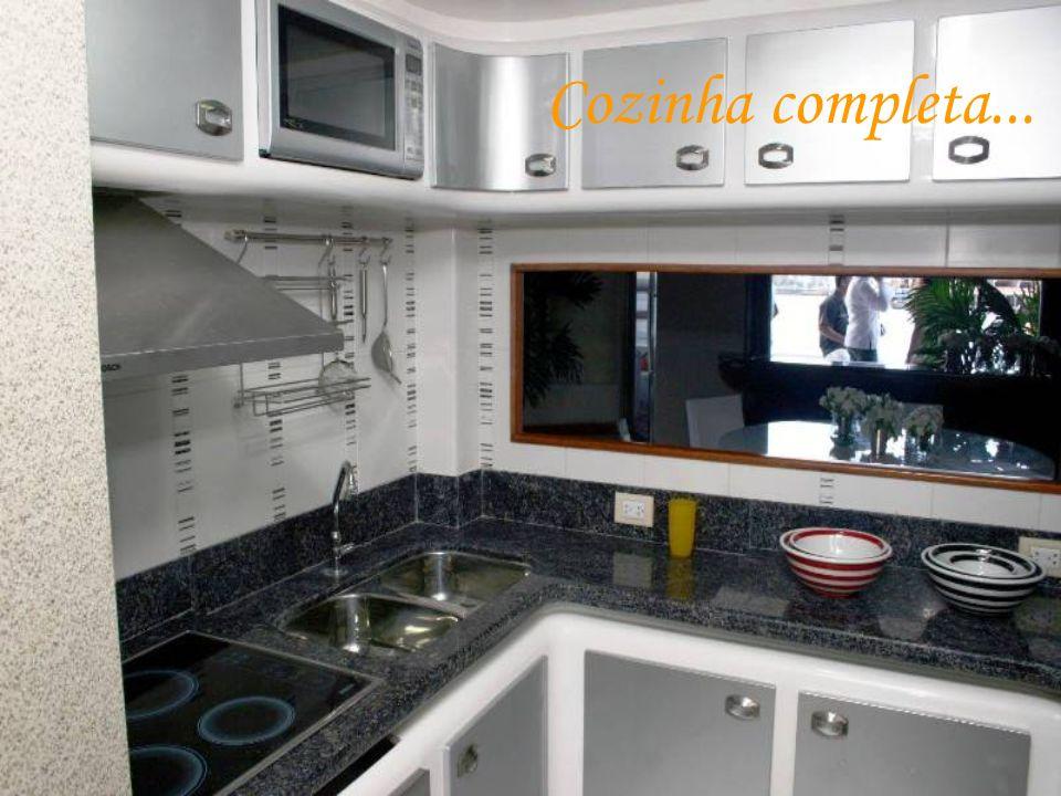 Cozinha completa...