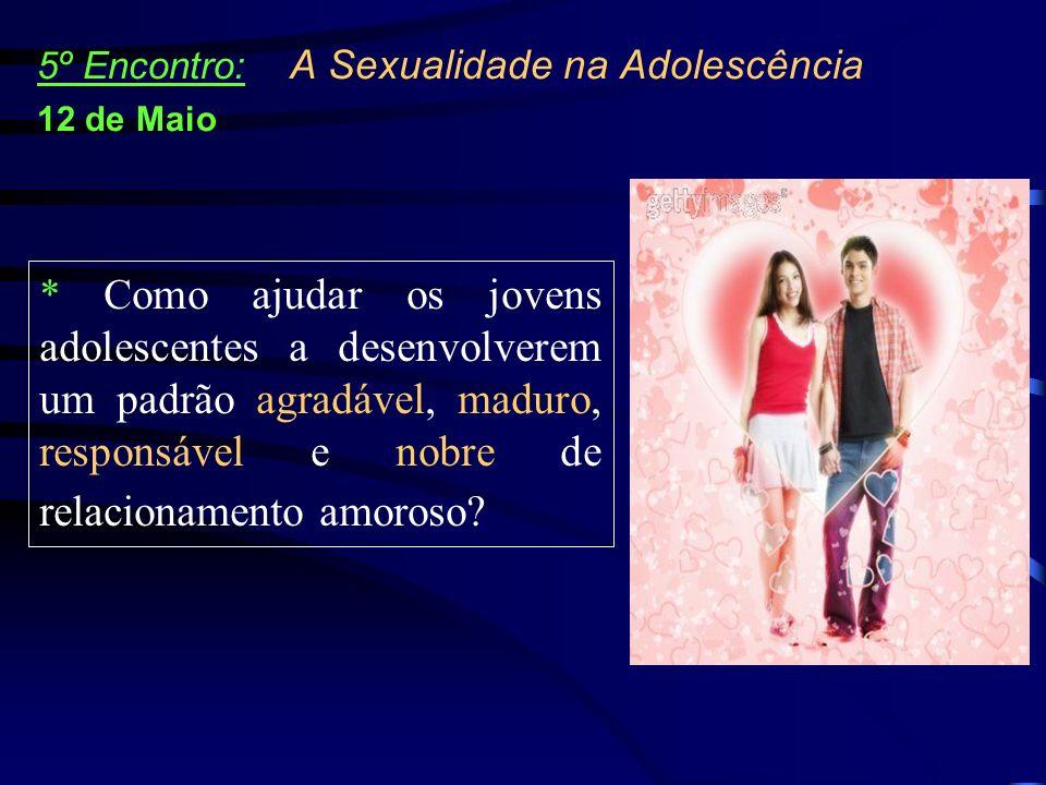 5º Encontro: A Sexualidade na Adolescência