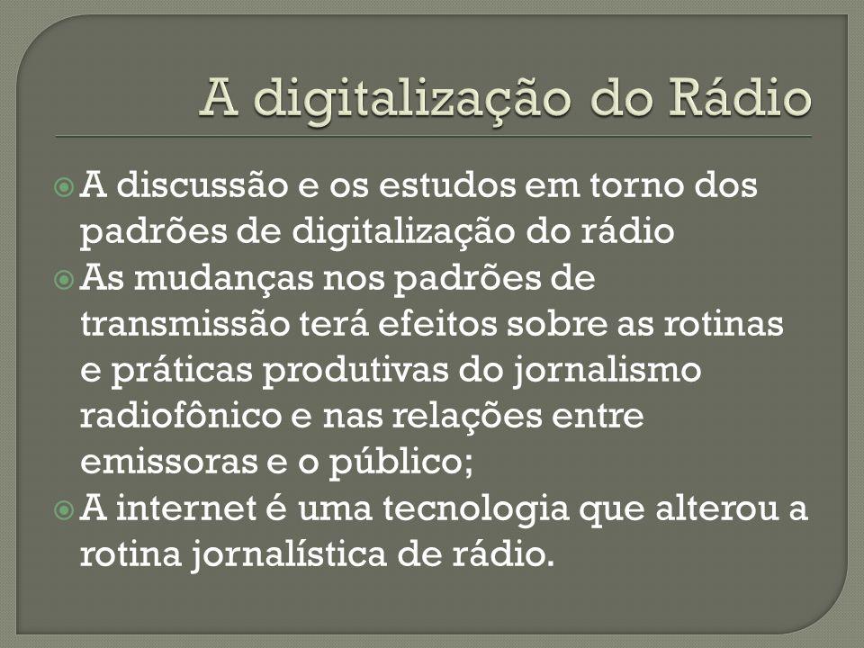 A digitalização do Rádio