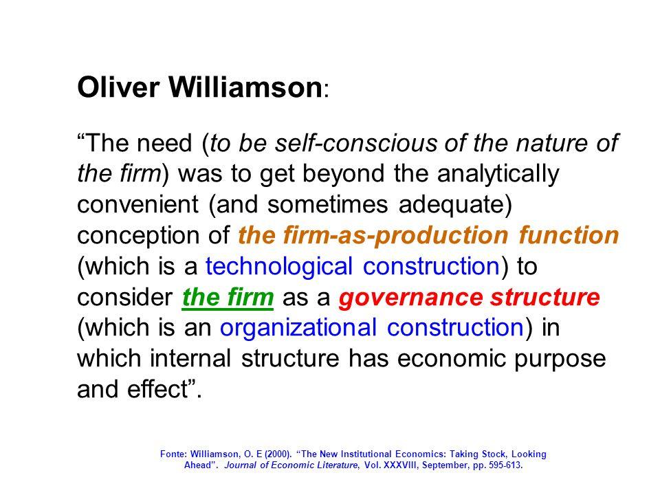 Oliver Williamson: