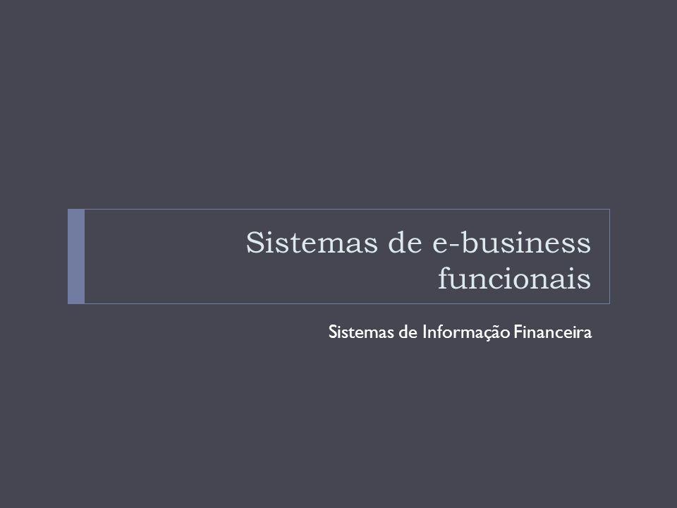 Sistemas de e-business funcionais