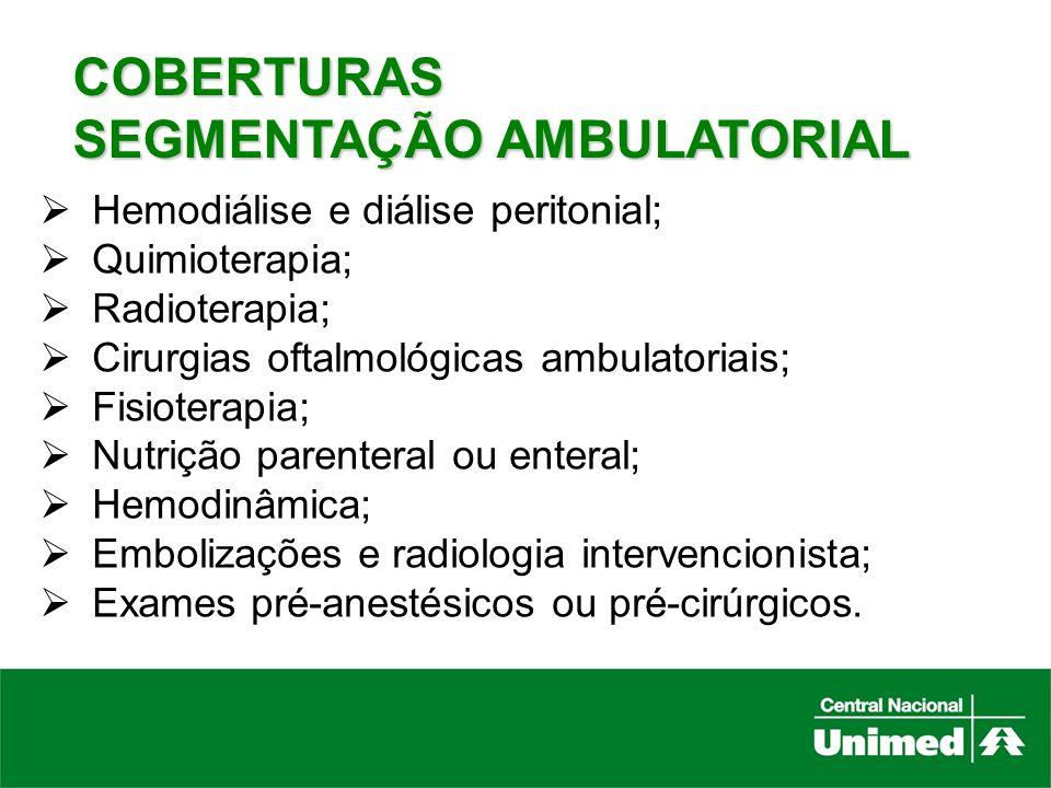 SEGMENTAÇÃO AMBULATORIAL