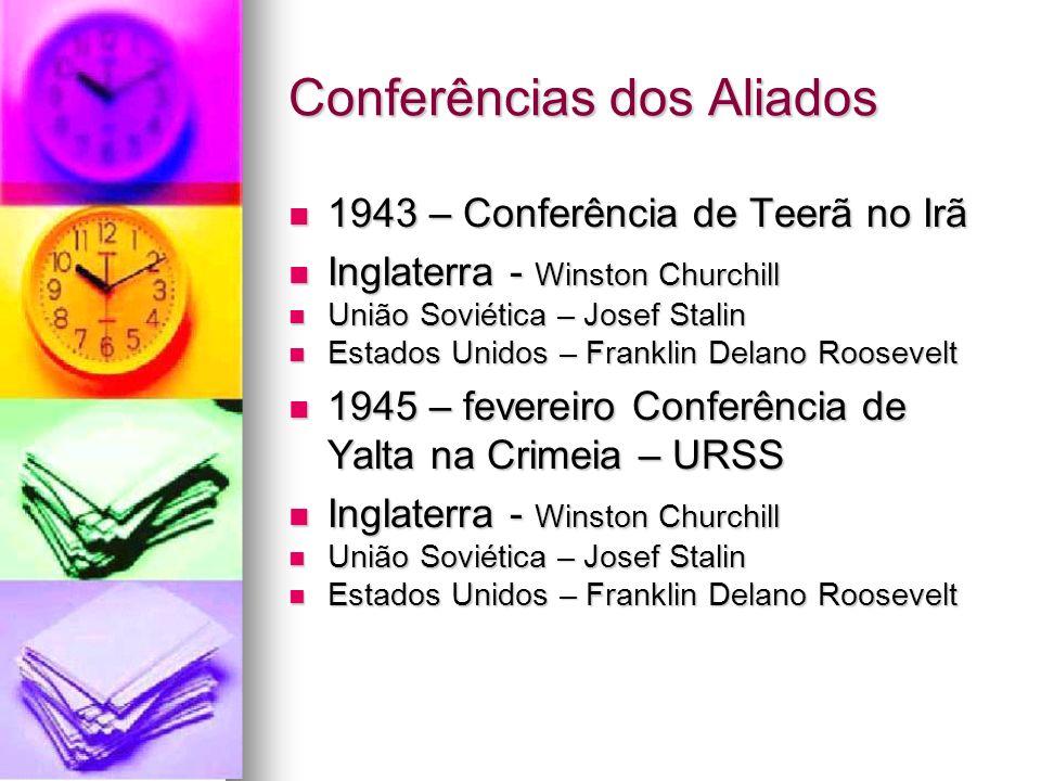 Conferências dos Aliados
