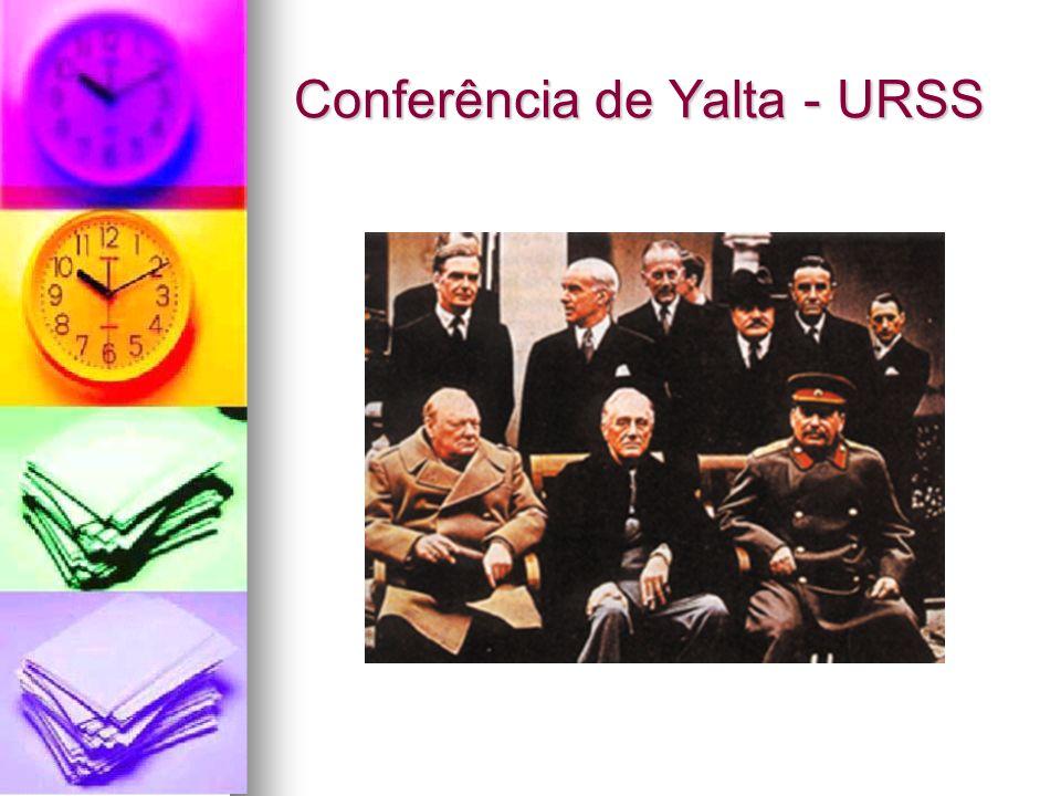 Conferência de Yalta - URSS