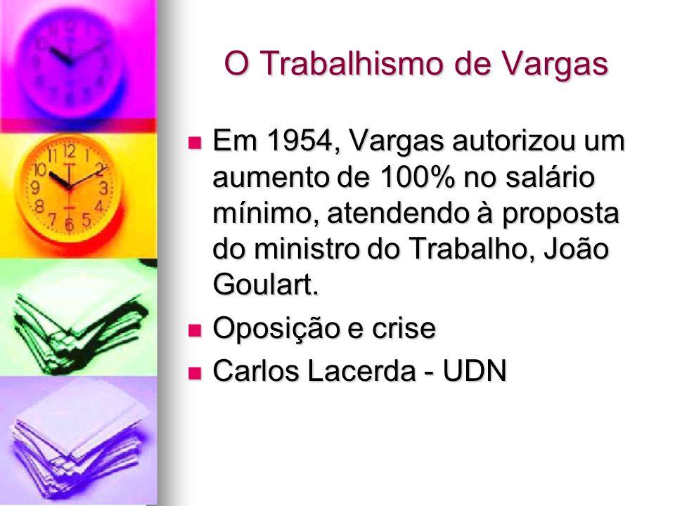 O Trabalhismo de Vargas