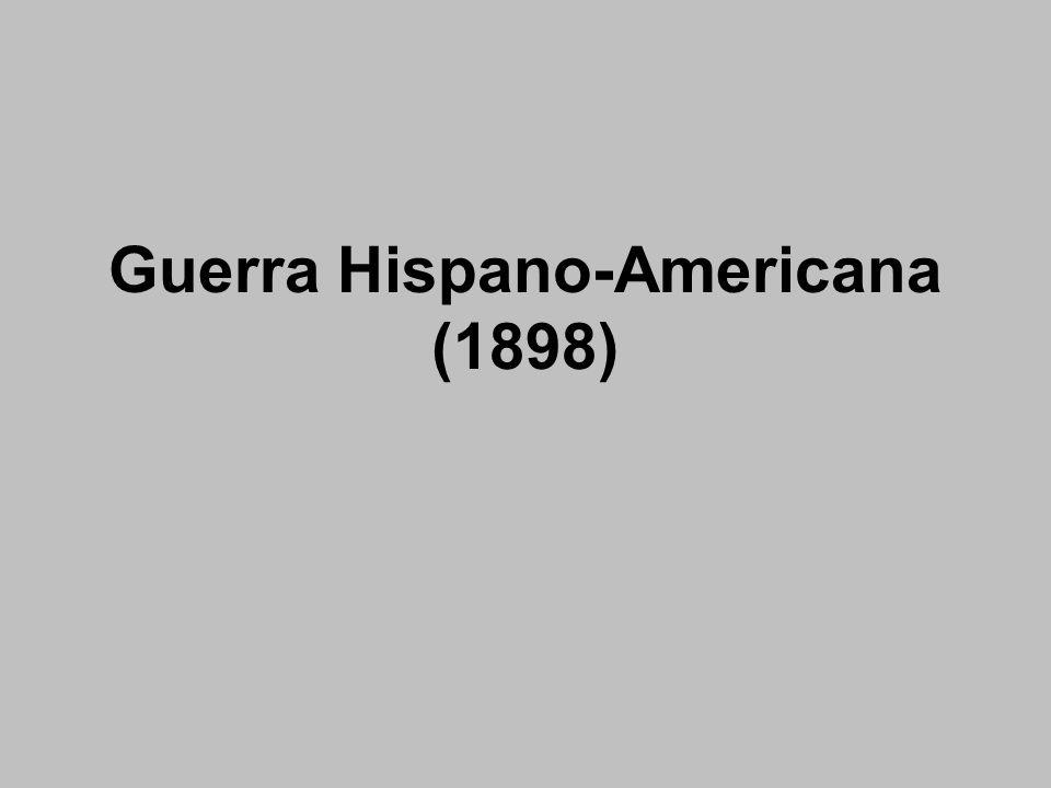 Guerra Hispano-Americana (1898)
