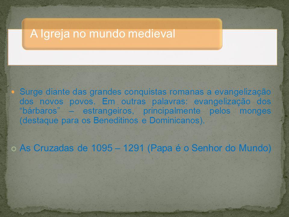 A Igreja no mundo medieval