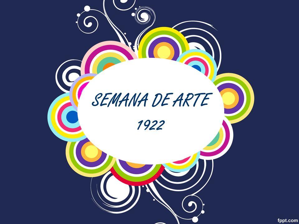 SEMANA DE ARTE 1922
