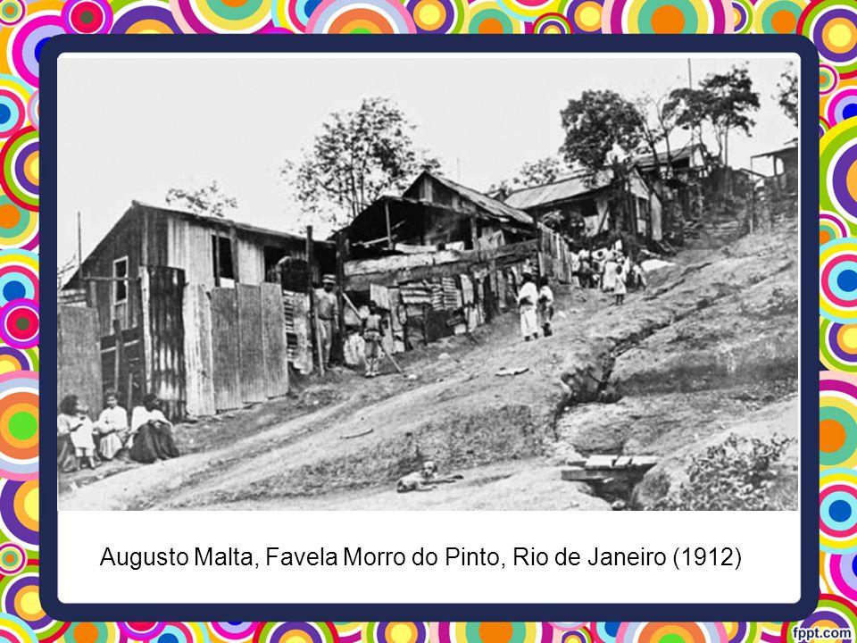 Augusto Malta, Favela Morro do Pinto, Rio de Janeiro (1912)