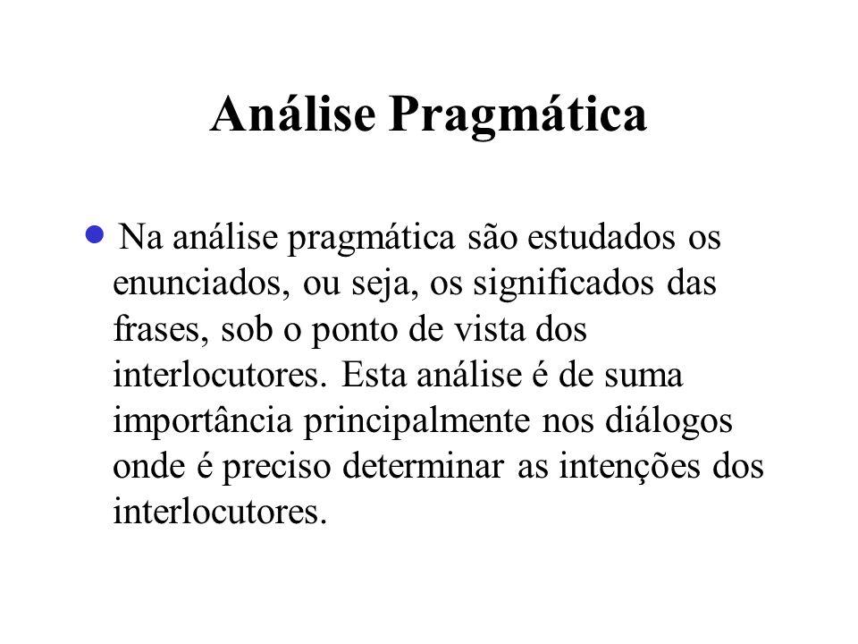 Análise Pragmática