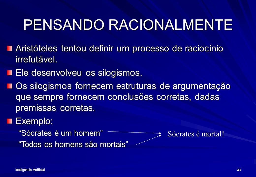 PENSANDO RACIONALMENTE