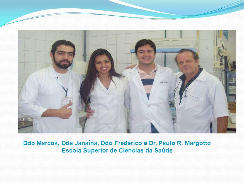 Ddo Marcos, Dda Janaína, Ddo Frederico e Dr. Paulo R. Margotto