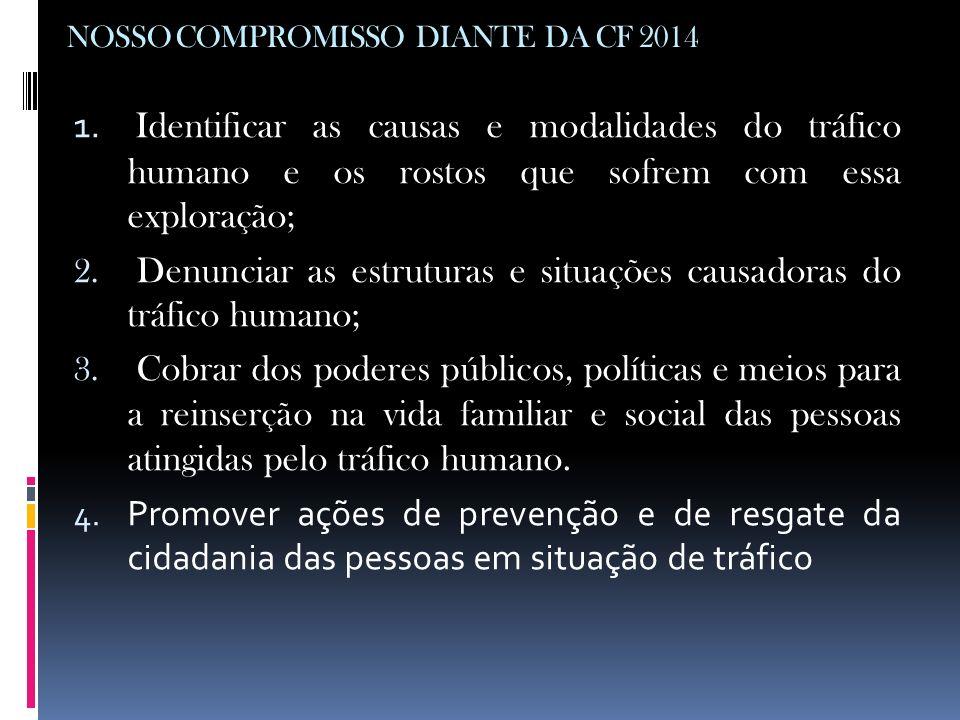 NOSSO COMPROMISSO DIANTE DA CF 2014