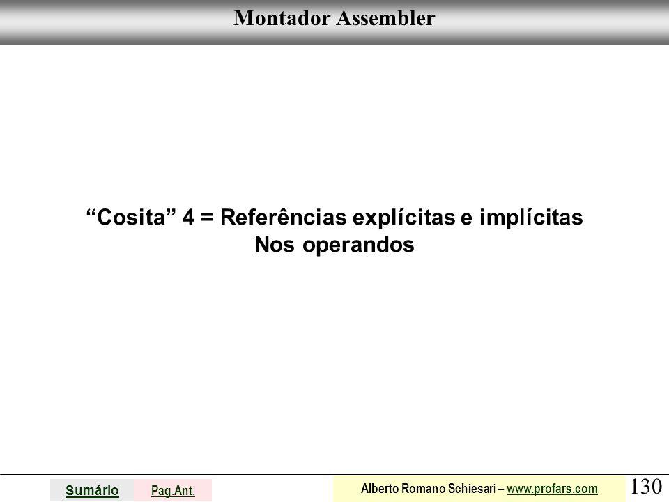 Cosita 4 = Referências explícitas e implícitas