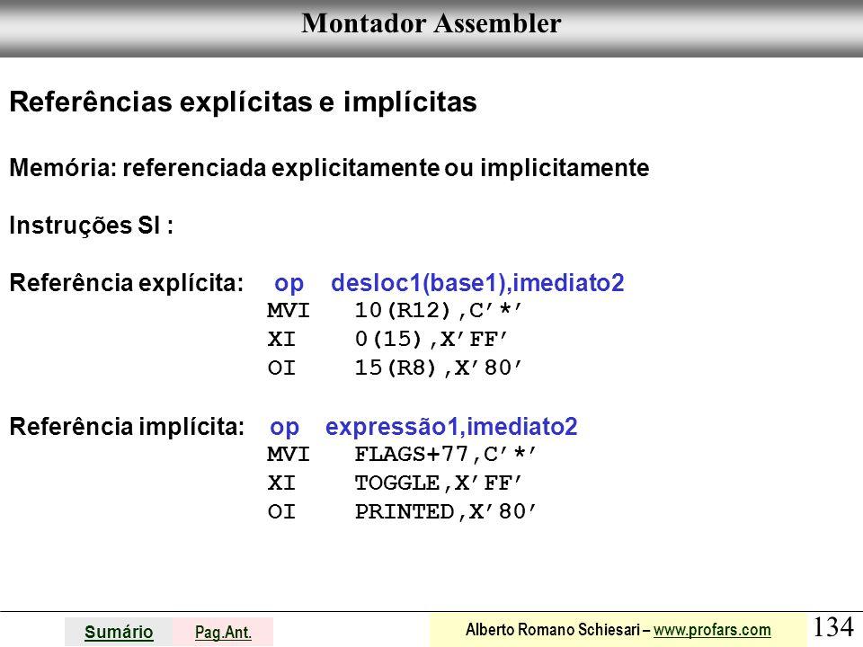 Referências explícitas e implícitas