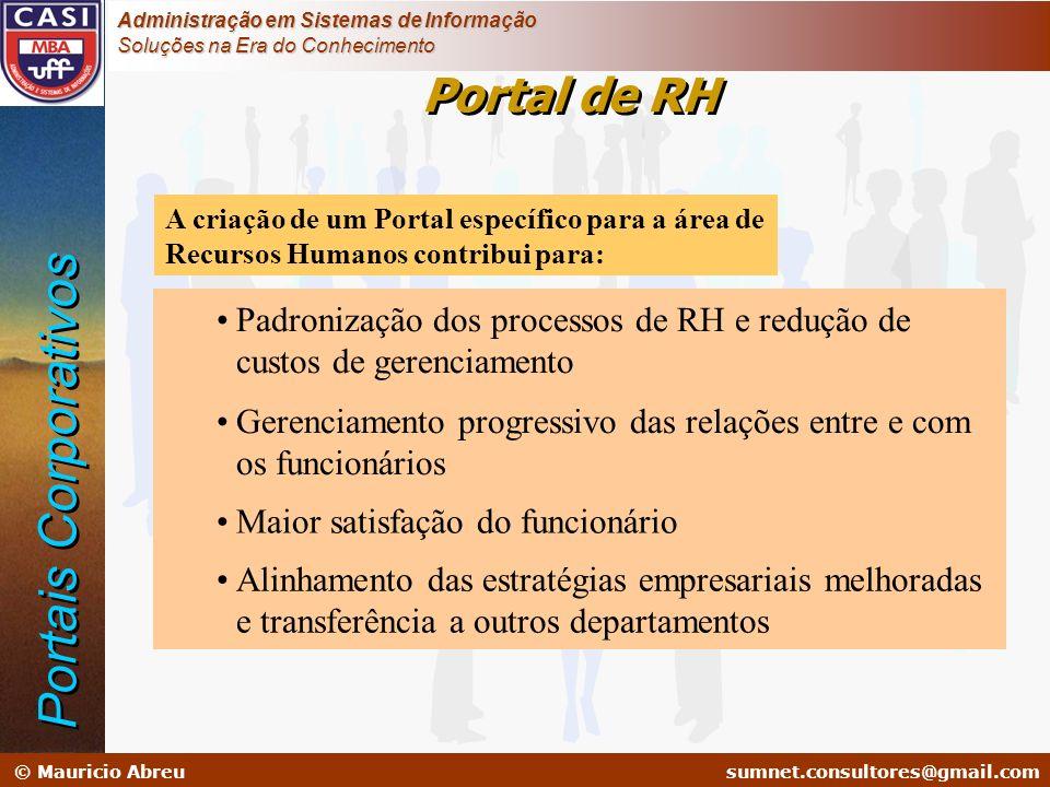 Portais Corporativos Portal de RH
