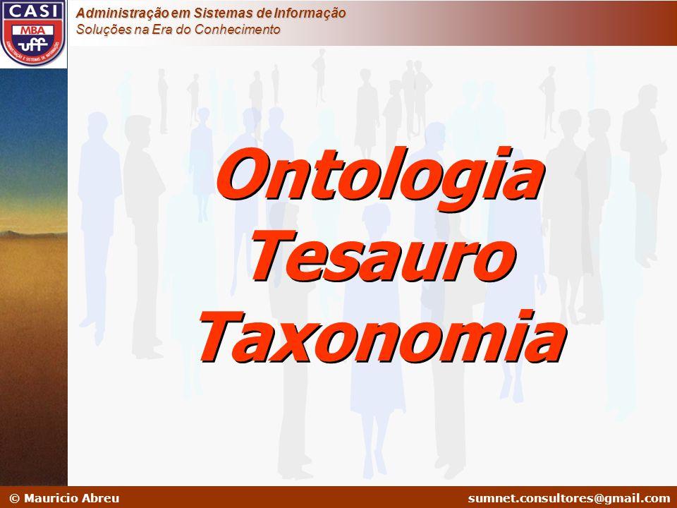 Ontologia Tesauro Taxonomia