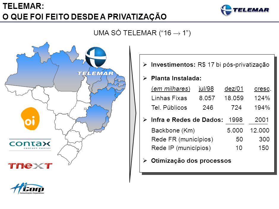 Realizações Pós-Privatização no Brasil