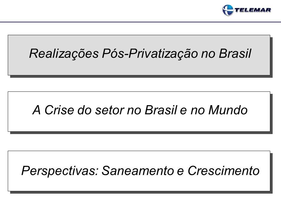 HISTÓRICO DO SETOR DE TELECOM REFORMA E PRIVATIZAÇÃO