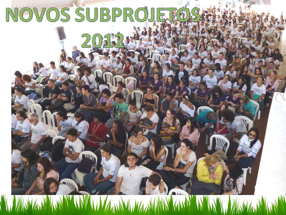 NOVOS SUBPROJETOS 2012